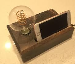 Desk Organizer Lamp Buy A Hand Made Desk Lamp Rustic Industrial Lamp Handmade Gift