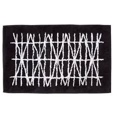 Black And White Throw Rugs Buy Black And White Decorative Rugs From Bed Bath U0026 Beyond
