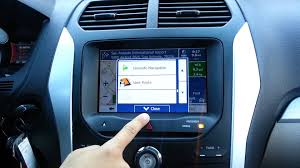 2013 ford explorer upgrades 2012 2013 ford explorer gps upgrade myfordtouch 8 hd