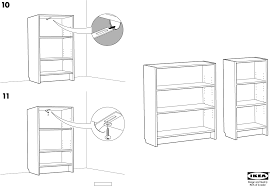 ikea storage furniture billy bookcase 41 3 4