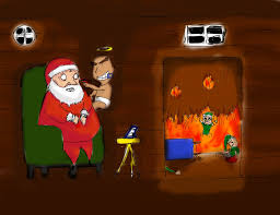 santa and baby jesus picture baby jesus killing santa claus by ulgyashell on deviantart