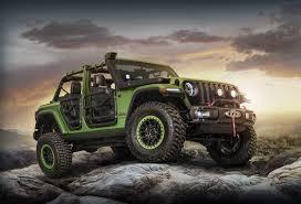 jeep wrangler stance the 2018 jeep wrangler gets a mopar makeover at l a auto show