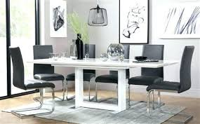 white and gray dining table gray dining room chairs black and white dining room sophisticated