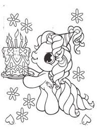 my little pony birthday coloring page my little pony coloring pages prinable pages pinterest pony