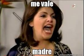 Memes De Me Vale - me vale madre meme de soraya montenegro imagenes memes