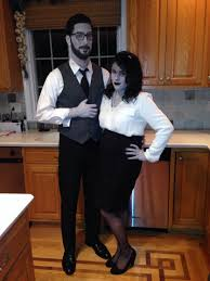 black and white halloween costume