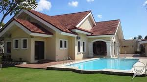 House With Swimming Pool Bungalow House And Lot For Sale In Cebu City With Swimming Pool