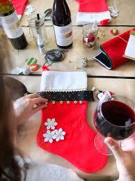 stocking decorating party craft u0026 wine party u2014 elle talk