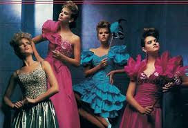 eighties prom dress you might not like today s prom dresses but were ours any better