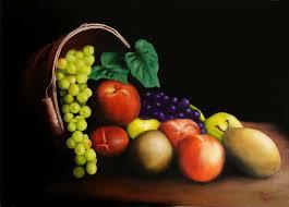 fruit in a basket yessy osvaldo torres paintings fruit basket