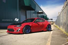 frs scion red openroad scion x sr the first