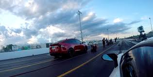 lamborghini aventador race a tesla model x p100d beat a 530 000 lamborghini aventador sv in