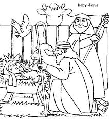 birth of jesus coloring page 9 best sbc 2017 images on pinterest bible stories birth of