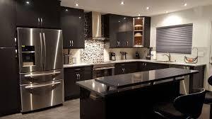 Black Cabinet Kitchen Beautiful Black Kitchen Cabinets Design Ideas Designing Idea