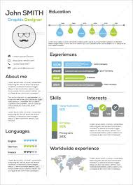 Free Visual Resume Templates Infographic Resume Template 1214 Best Infographic Visual Resumes