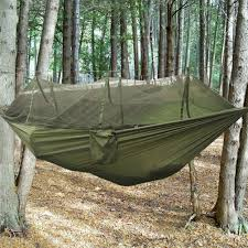 Travel Mosquito Net For Bed Military Jungle Hammock W Mosquito Net Camping Travel Parachute