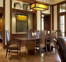 Mission Style Dining Room Craftsman Style Dining Room Decor