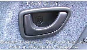 2010 hyundai sonata door handle replacement how to install or perform an inside front door handle replacement