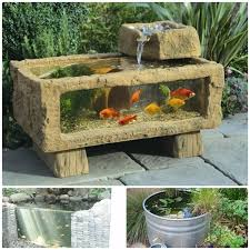 unique fish pond ideas you can choose for your small garden