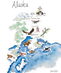 Alaska Rivers Map by Our Complete Alaska Itinerary Gal Meets Glam