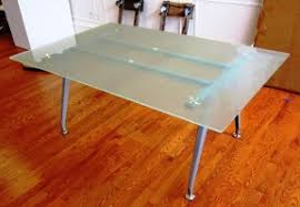 Frosted Glass Conference Table Conference Tables Writing Tables Computer Tables Plainfield Nj
