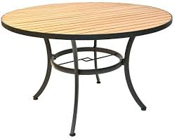 round resin patio table round resin table outdoor dobroeutro