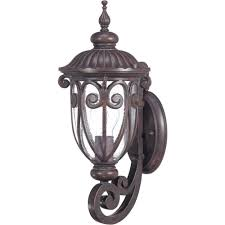 Hampton Bay Exterior Wall Lantern by Glomar Outdoor Wall Mounted Lighting Outdoor Lighting The