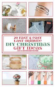 20 fast u0026 easy last minute diy christmas gift ideas little red