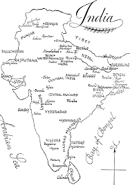 Hyderabad India Map by India Map Coloring Page Coloring Home