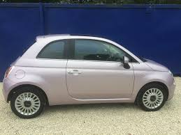 fiat 500 hatchback used metalic pink fiat 500 for sale south yorkshire