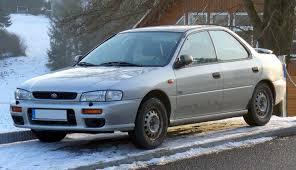 subaru gc8 coupe subaru impreza techniniai automobilio duomenys automobilio kuro