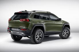 jeep cherokee grey 2017 mopar tuned jeep cherokee wrangler and renegade debut in frankfurt