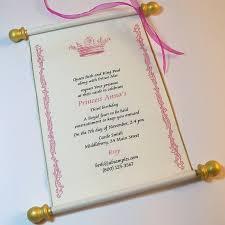 princess theme invitations afoodaffair me