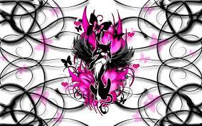 pink and black wallpaper designs 16 background hdblackwallpaper com