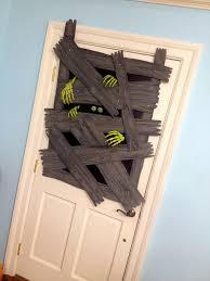 halloween decorations home made backyards best halloween door decorations for zombie windows diy
