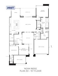 3 Bay Garage Plans by Pardee Homes Summerlin Las Vegas Nv