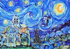 doctor who vincent van gogh tardis wallpapers hd desktop and