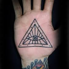 100 palm tattoo designs for men inner hand ink ideas