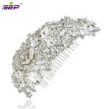 bridal hair combs 9 2 5 cz rhinestone diamond hair clip hairpin hair comb