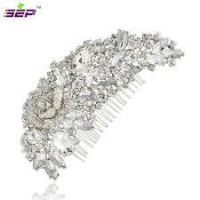 bridal hair clip 9 2 5 cz rhinestone diamond hair clip hairpin hair comb