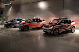 cars bmw 2016 bmw i3 emergency vehicles displayed at the bmw welt