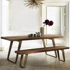 Light Oak Dining Table And Chairs Dining Table With Benches Tables Neat Dining Room Table