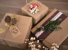 brown wrapping paper 18 brown paper christmas gift wrapping ideas stayglam