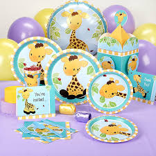 giraffe baby shower decorations best inspiration from