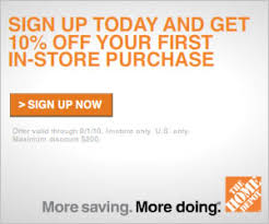 home depot black friday sale 2010 home depot coupon get 10 off common sense with money