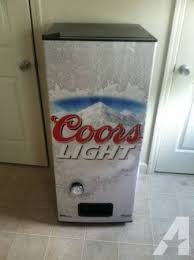 coors light beer fridge coors light beer vending machine great for any mancave for sale