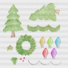 holiday clipart christmas clipart objec design bundles