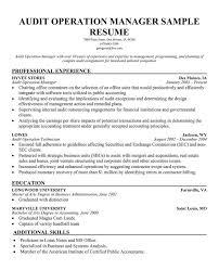 Sample Resume For Internal Auditor by Risk Manager Resume Template Seductive Mortgage Banker Resume