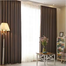Curtains For Living Room Hotel Curtains Blackout Living Room Solid Color Home Window