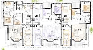 unit designs floor plans 3 unit triplex design kit home designs australian kit homes
